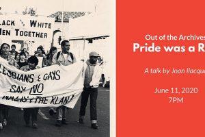 Pride was a Riot