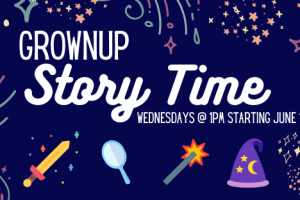 Grownup Story Time