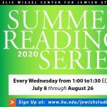 Elie Wiesel Center for Jewish Studies Summer Readi...