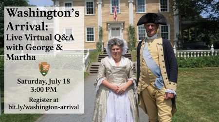 Washington's Arrival: Live Virtual Q&A with George & Martha