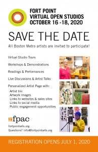 Fort Point Virtual Open Studios Artist Info Session