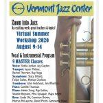 'Zoom Into Jazz'- Virtual Summer Workshop 2020...