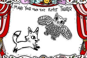 Fox & Owl Puppet Workshop with artists Sara Peattie & Kari Percival