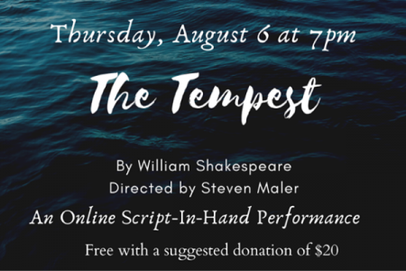 The Tempest: An Online Script-In-Hand Performance