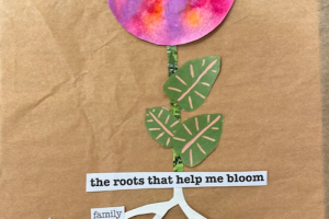 Root and Bloom Collage Workshop with Healing Crayons