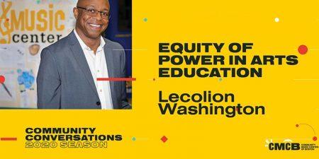 Equity of Power in Arts Education Webinar