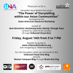 """""""The Power of Storytelling within our Asian Commun..."""