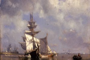 Virtual Into the Collection: Maritime Paintings