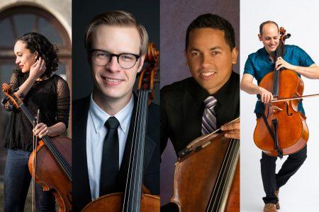 "Celebrity Series at Home: Neighborhood Arts Cello Quartet: ""Global Inspirations"""