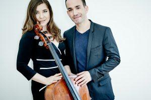 Celebrity Series at Home: Alisa Weilerstein, cello and Inon Barnatan, piano