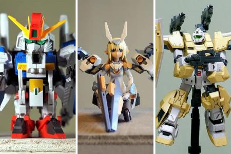 Creating Gundam Plastic Models: A Couples & #Q...