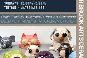 Critters in Clay Family Workshop