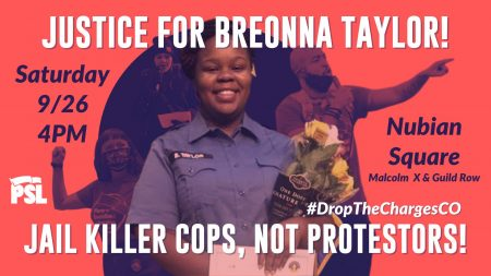 Justice for Breonna Taylor! Jail Killer Cops, Not ...