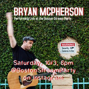 Bryan McPherson @BostonStreamParty on Instagram