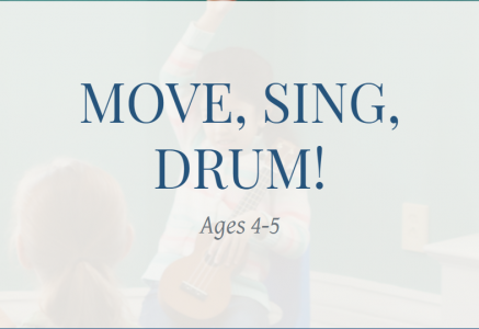 Brookline Music School Move, Sing, Drum! for Child...