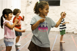 Modern Dance/Improv (Ages 6-10)
