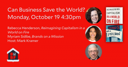 Can Business Save the World?