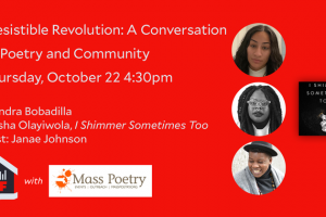 Irresistible Revolution: A Conversation on Poetry and Community