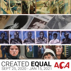 Created Equal Exhibition at the Arlington Center for the Arts