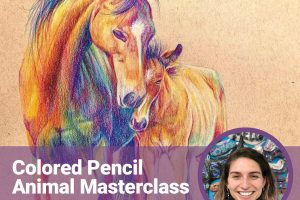 Online: Colored Pencil Animal Masterclass