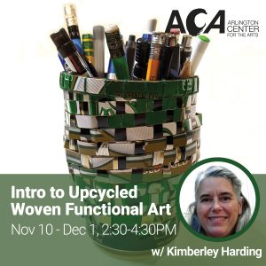 Online: Intro to Woven Upcycled Functional Art