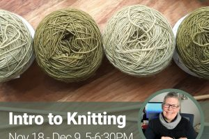 Online: Intro to Knitting