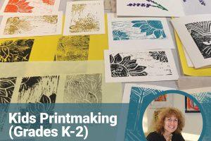 Online: Kids' Printmaking (Gr K-2)
