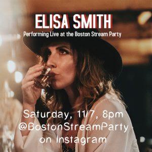 Elisa Smith at Boston Stream Party on Instagram Sa...