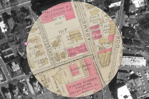 Fields Corner by Map