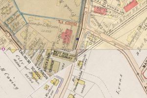 West Roxbury By Map