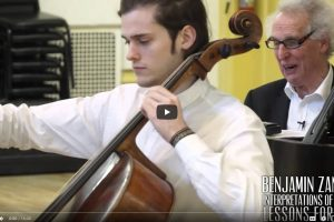 Video: Prelude Bach Cello Suite no. 1 -Benjamin Zander Interpretations of Music