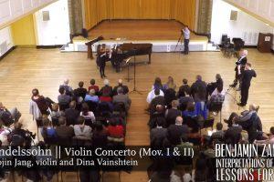 Video: Mendelssohn: Violin Concerto - 1st movement Benjamin Zander Interpretations of Music