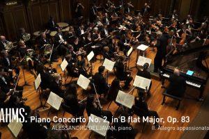Boston Philharmonic Orchestra with Alessandro Deljavan: Brahms Piano Concerto No. 2