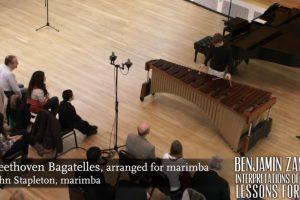 Beethoven Bagatelle: Benjamin Zander's Interpretations of Music