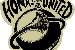 HONK!United: worldwide activist street band festival.