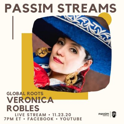 Global Roots Series presented by Club Passim: Veronica Robles