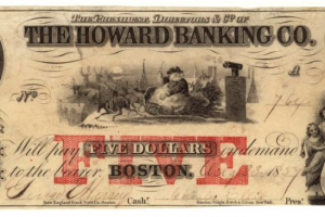 Bank Notes and Shinplasters: The Rage for Paper Money in the Early Republic