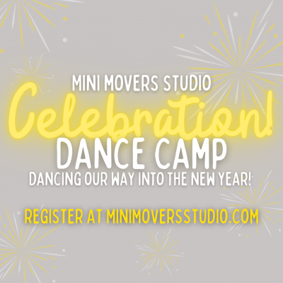Celebration Dance Camp with Mini Movers Studio