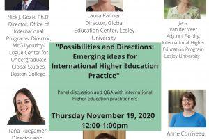 Emerging Ideas for International Higher Education Practice
