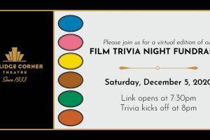 Virtual Film Trivia Night Fundraiser