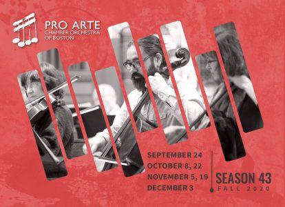 Pro Arte Salon Concert #5 = Thursday, November 19, 2020