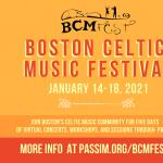 Boston Celtic Music Fest - First Round Concert in Cambridge