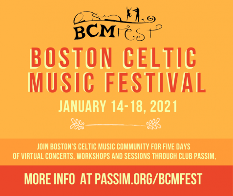 Boston Celtic Music Fest - Roots and Branches Concert in Cambridge