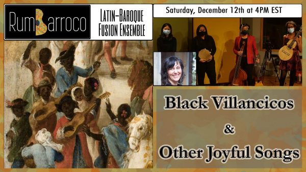 Black Villancicos and Other Joyful Songs