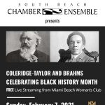 Celebrating Black History Month with the South Beach Chamber Ensemble: FREE