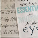 Creative Lettering (Online Class)