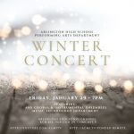 Arlington High School, Arlington, MA Winter Concert