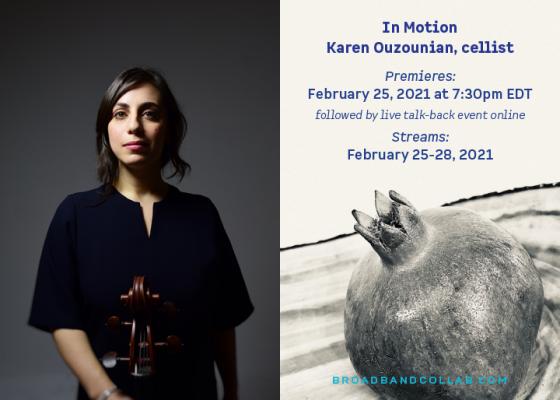 Karen Ouzounian: In Motion