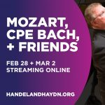 Mozart, CPE Bach, and Friends