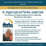 Dr. and Rev. Cook: The History of Paige Academy and a Culturally Responsive Education